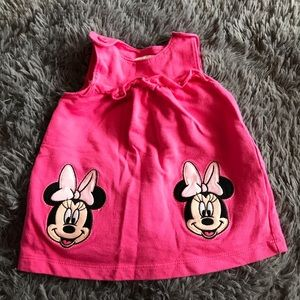 🦋2/$15 DISNEY Minnie Mouse jumper Minnie face